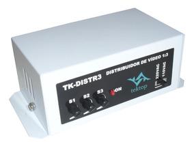 Amplificador E Distribuidor De Video 1x3 Cx Cftv