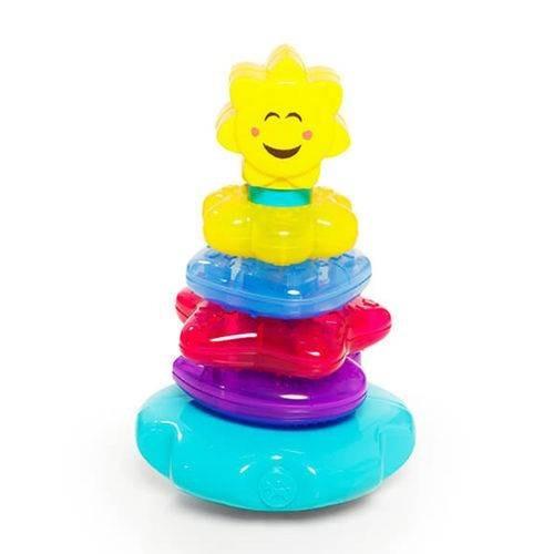Brinquedo Didático Torre Lumina Calesita Com Luzes E Som