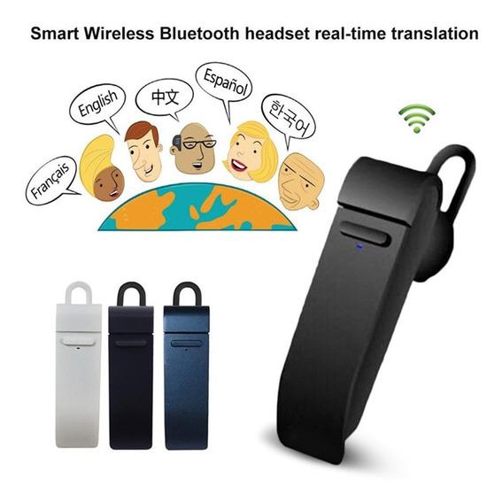 Tradutor De Fone De Ouvido Tempo Real 16 Idiomas Inteligente