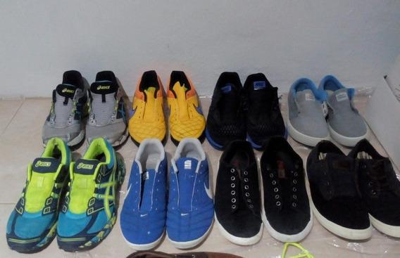 Vendo 8 Pares De Tênis: Nike, Asics, Timberland, Coca-cola..
