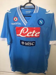 Camisa Rara E Original Comprada Na Itália Do Time Napoli