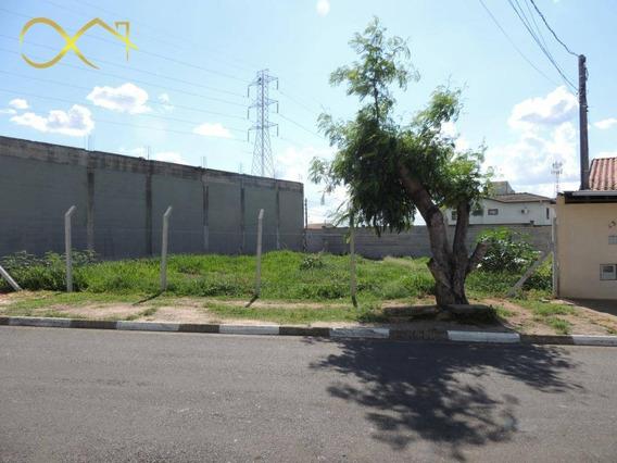 Terreno À Venda E Locação, 324 M² - João Aranha - Paulínia/sp - Te0607