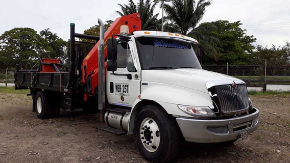 Venta De Camion Grua International - Palfinger 18500