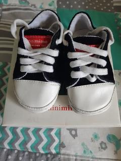 Zapatillas Minimimo Basicas Negras Talle 19