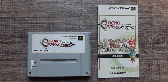 Chrono Trigger Original C/ Manual Jp Snes S. Famicom R0159