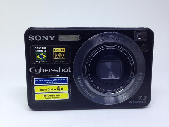 Camera Digital Sony Cyber-shot Dsc-w125 Lente Carl Zeiss