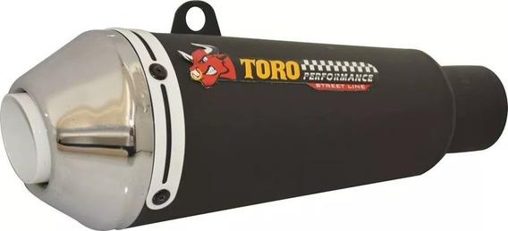 Escape Toro T-1 Cb 250 Twister Cromado\branco