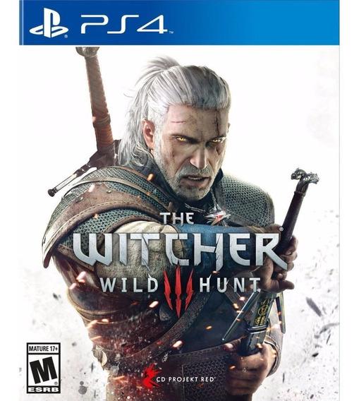 Jogo Novo The Witcher 3 Wild Hunt Portugues Playstation Ps4