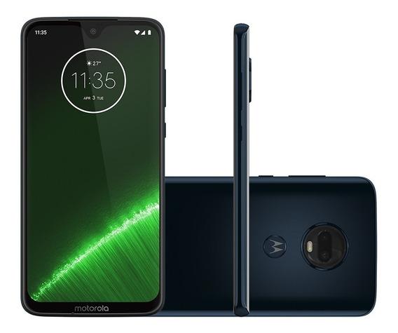 Smartphone Motorola Moto G7 Plus 64gb, Tela 6,3 Pol - Índigo
