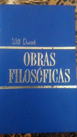 Obras Filosóficas - Os Grandes Pensadores - Will Durant