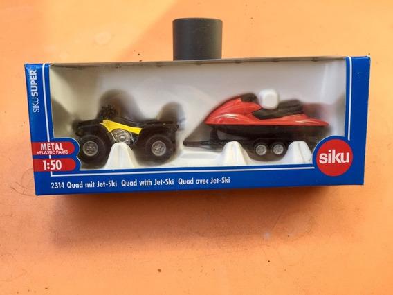 Siku Super # 2314 Esc 1: 50 - Cuatriciclo + Jet Sky - 03 R
