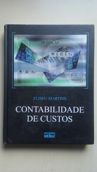 Livro Contabilidade De Custos Editora Atlas B036
