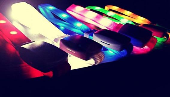 100 Pulseras Led Xyloband + Control - Cotillón Luminoso -
