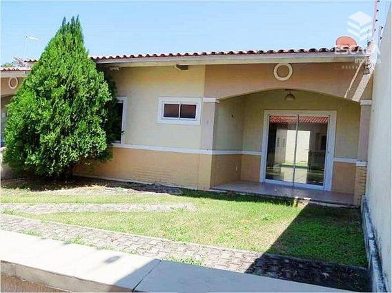 Casa Plana Com 2 Quartos À Venda, 81 M² , 2 Vagas, Área De Lazer, Financia - Lagoa Redonda - Fortaleza/ce - Ca0187