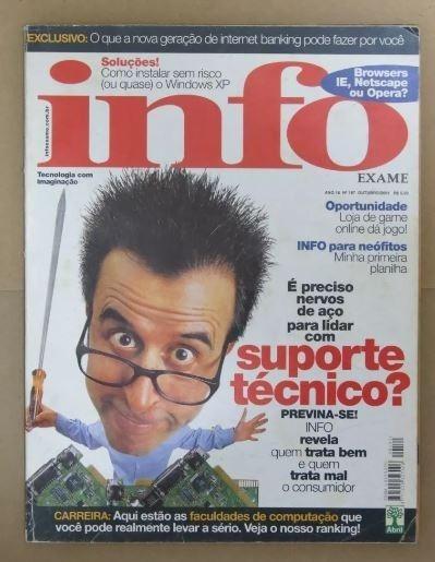 Revista Info Exame 187 - Outubro 2001