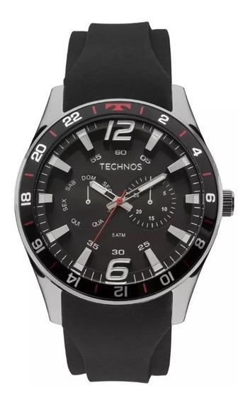Relógio Technos Esportivo Performance Racer 6p25bn/8p + Nota