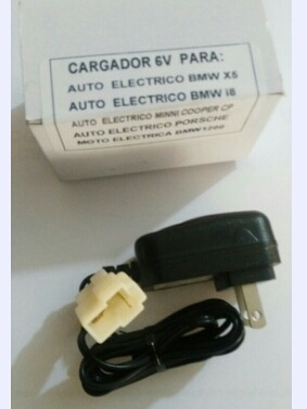 Imagen 1 de 8 de Cargador Para Montable Eléctrico Mini Cooper Prinsel 6 V