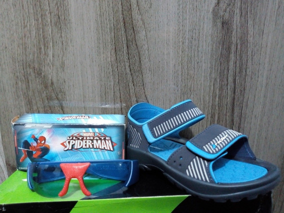 Sandalia Infantil Rider Papete ( Homem Aranha Batman Huck )