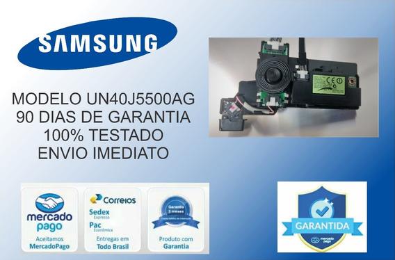 Botão Power Sensor Controle Remoto Sansung Un40j5500ag