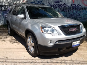 Gmc Acadia 3.6 D 8 Pas Qc Piel 4x4 At 2010