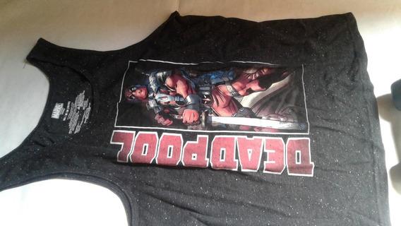 Musculosa Dead Pool Marvel Importada Talle 38/40