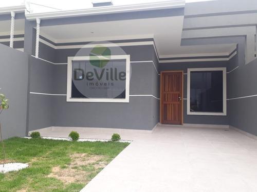 Imagem 1 de 12 de Casa A Venda No Bairro Nações Em Fazenda Rio Grande - Pr.  - 30170-1