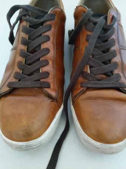 Zapatillas Cuero Aldo Talle 9 / 42 Hombre