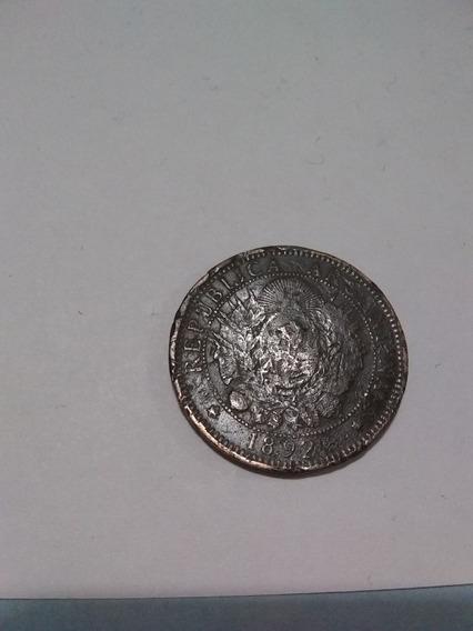 Moneda De 2 Centavos Argentina De 1892