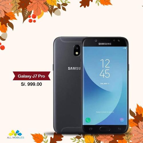 Samsung Galaxy J7 Pro 32gb Nuevo Y Sellado + Garantia
