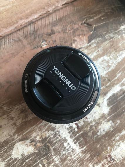 Lente Yongnuo 50mm 1.8 Para Canon