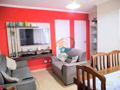 Imagem 1 de 20 de Apartamento Com 2 Dormitórios À Venda, 46 M² Por R$ 205.000,00 - Jardim Valéria - Guarulhos/sp - Ap1872