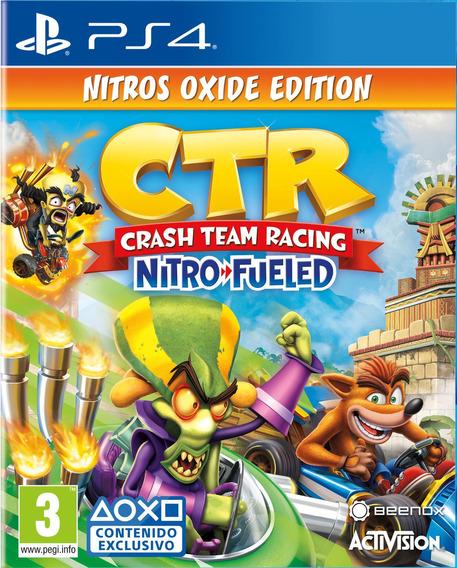 Crash Team Racing Nitros Oxide + Juegos Gratis Digital Ps4
