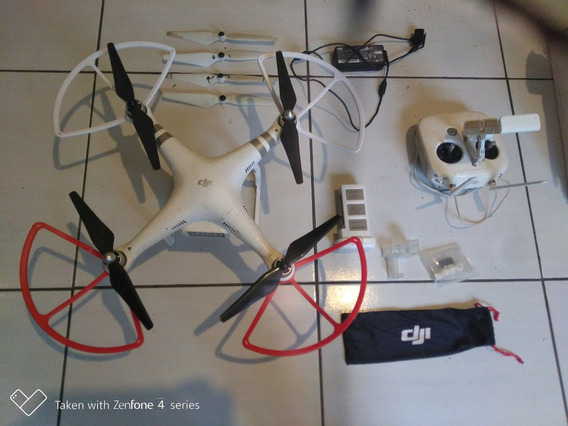 Drone Dji Phantom 3 Advanced Usado - Semi Novo - Pouco Uso