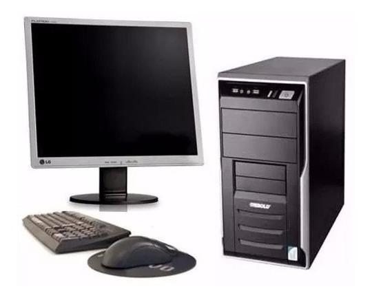 Computador Completo Core 2 Duo + Monitor 17