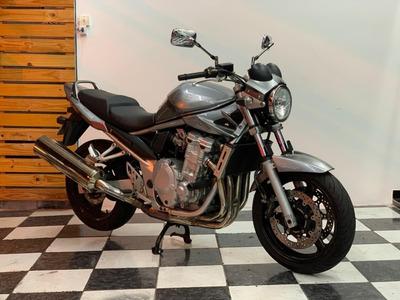 Suzuki Bandit 650 2010 Prata Tebi Motos