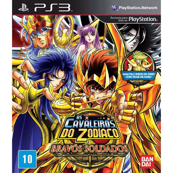 Game Os Cavaleiros Do Zodíaco: Bravos Soldados Bandai 21284