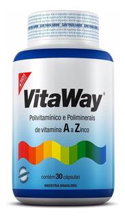 Vitaway Polivitamínico De A Z - Fitoway - 30 Cápsulas