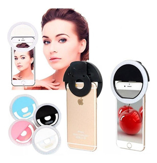 Ring Light Flash Led Selfie Clip Para Smartphone Universal
