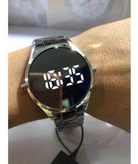 Relógio Feminino Digital Led Lince Mdm4617l