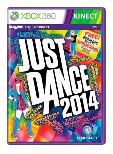Jogo Just Dance 2014 Xbox 360 Lacrado Original Com Garantia