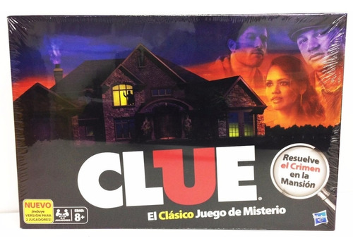 Imagen 1 de 5 de Juego De Mesa Clue Hasbro 13011 Quien Es Culpable Edu