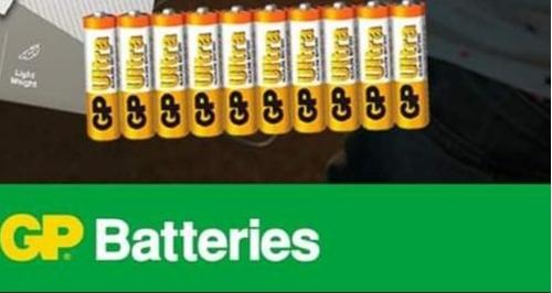 Pila Aaa Gp Ultra Alcalina Empaque De 30 Unidades