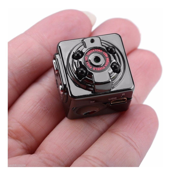 Mini Camara Espia Seguridad Vigilancia Casco Moto Con Envio