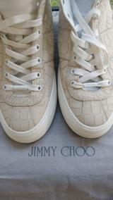 Jimmy Choo Jacare Tenis Importado