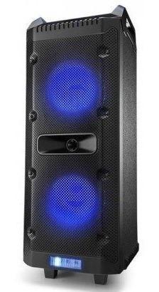 Caixa Bluetooth Com Microfone Torre Light Bt/fm/usb/sd/aux
