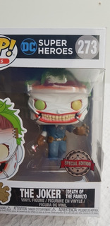 Funko Pop! The Joker Súper Heroes 273 Special Edition