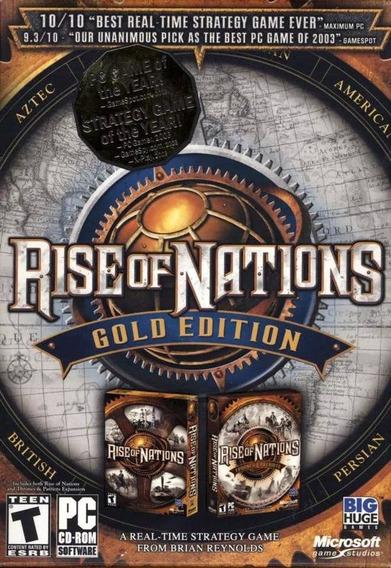 Rise Of Nations: Gold Edition Pc,promoção!