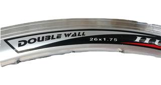Aros 26 Doble Pared Aluminio Bicicleta Mtb Paseo Colores