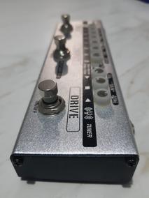 Pedal 5 Em 1 Overdrive Distortion Chorus Delay E Afinador