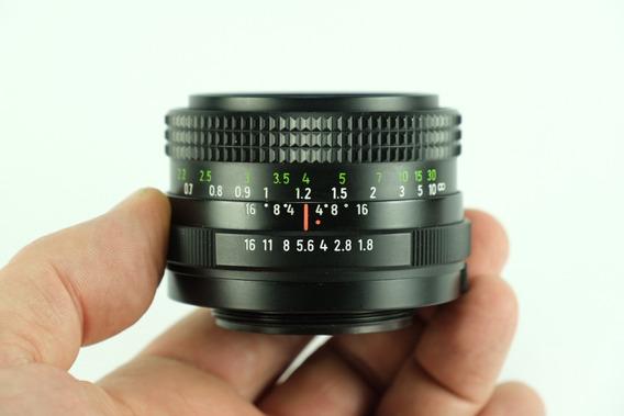 50mm F:1.8 - Pentacon Auto 1.8/50 - Prime - Ótimo Estado